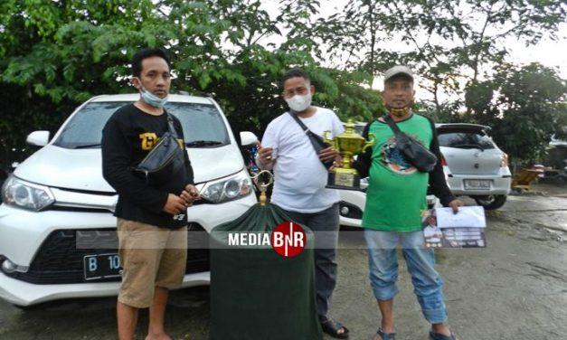 Murai Batu Bius andalan H.Adien Panda (Pintu 11 SF), Turun Perdana Langsung Juara di Bekasi Cup 1