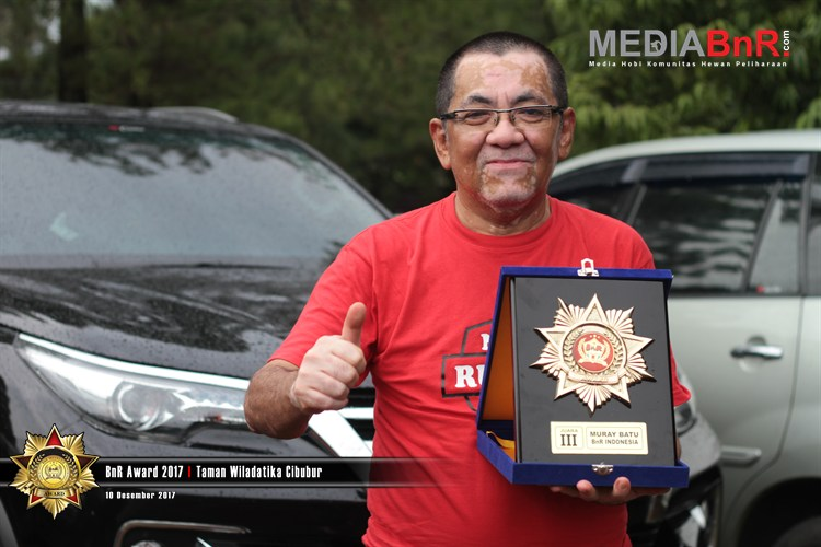 Rambo Sukses Jadi Kuda Hitam di BnR Award 2017