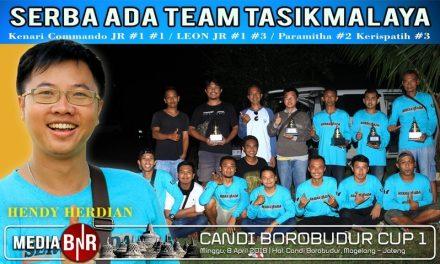 Tampil Gemilang di Kelas Kenari, Hendy Serba Ada Tasik Borong Juara di Borobudur Cup