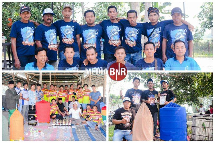 Bertanding dan Ngumpul Bareng Kembali Lahirkan Burung Terbaik, Dt. Presiden Cup V Sukses Borong Juara