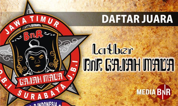 Daftar Juara Latber BnR Gajah Mada (5/1/2019)