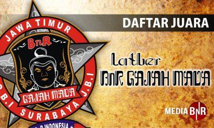 Daftar Juara Latber Sabtu BnR Gajah Mada (22/9/2018)