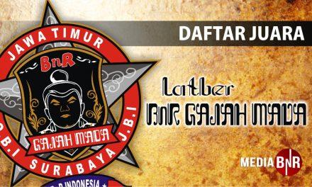 DAFTAR JUARA LATBER BnR GAJAH MADA SURABAYA (11/10/2018)