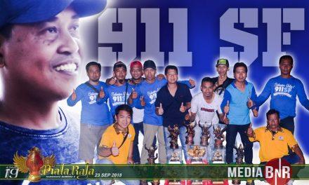 911 SF, Mampu Bersaing Dengan Jagoan Papan Atas di Piala Raja XIX
