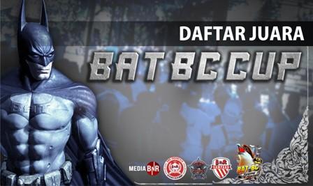 Daftar Juara BAT BC Cup (11/11/2018)