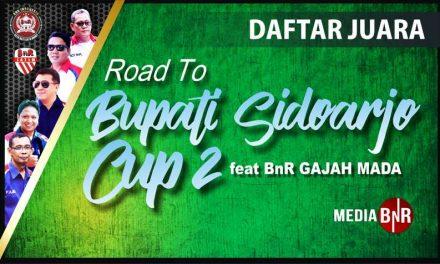 Daftar Juara Road To Bupati Sidoarjo Cup 2 (9/12/2018)