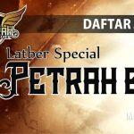 DAFTAR JUARA LATBER PETRAH BC (20/11/2018)