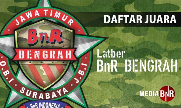 Daftar Juara Latber BnR Bengrah (11/8/2018)