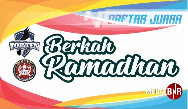 DAFTAR JUARA BERKAH RAMADHAN TOP TEN (02/06/2019)
