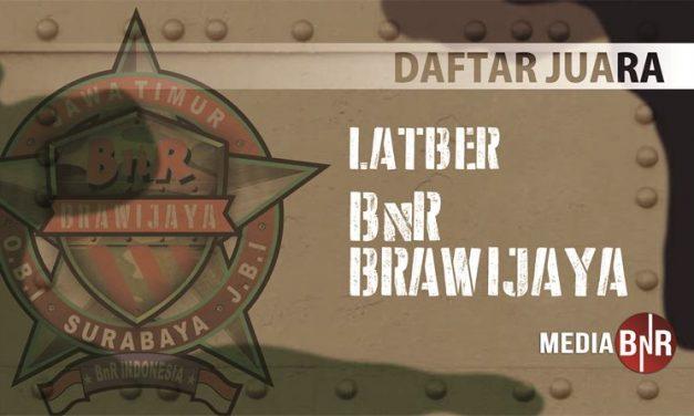 DAFTAR JUARA LATBER BnR BRAWIJAYA (18/07/2019)