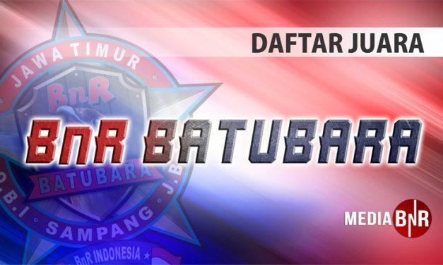 DAFTAR JUARA SPECIAL LATBER PERDANA BnR BATUBARA (24/11/2020)