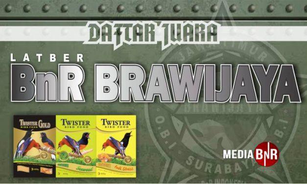 DAFTAR JUARA LATBER SABTU BnR BRAWIJAYA (07/12/2019)