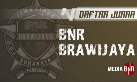 DAFTAR JUARA BnR BRAWIJAYA (24/08/2019)