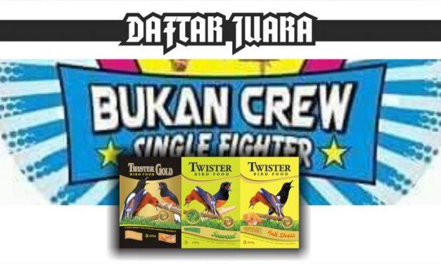 DAFTAR JUARA BUKAN CREW SF feat BnR (19/01/2020)