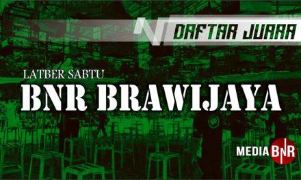 DAFTAR JUARA LATBER BnR BENGRAH (BnR BRAWIJAYA) 13/06/2020