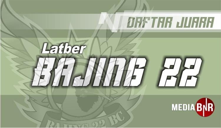 DAFTAR JUARA LATBER SABTU BAJING 22 (15/06/2019)
