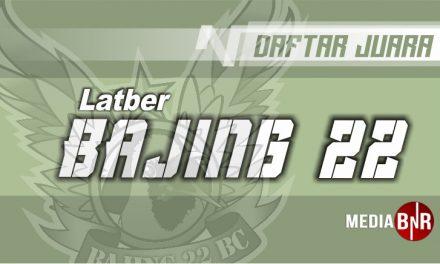 DAFTAR JUARA LATBER SABTU BAJING 22 (29/06/2019)