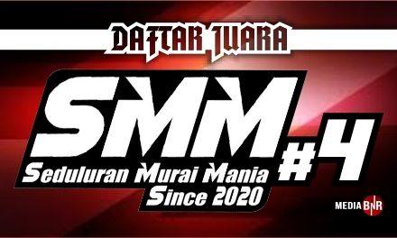 DAFTAR JUARA SMM (Seduluran Murai Mania) 4 (18/10/2020)
