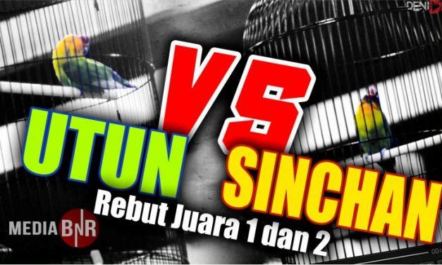 Duel Lovebird Utun dan Sinchan di Suroboyo Cup 1