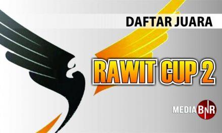 Daftar Juara Rawit Cup 2 (20/1/2019)