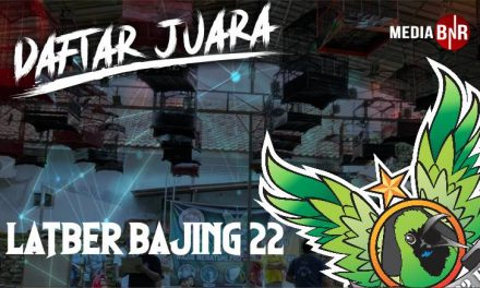 DAFTAR JUARA LATBER BAJING 22 FEAT BnR (23/01/2021)