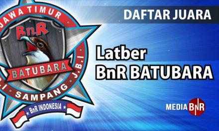 Daftar Juara Latber BnR Gajah Mada (30/11/2018)