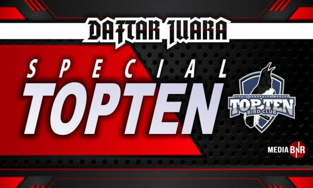 DAFTAR JUARA SPECIAL TOP TEN (25/10/2020)