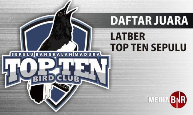 Daftar Juara Latber Top Ten BC (8/8/2018)
