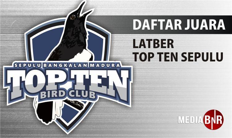 Daftar Juara Latber Ton Ten (10/10/2018)