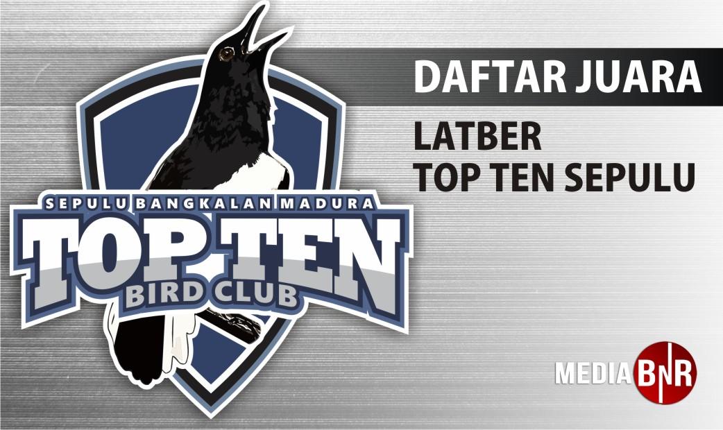 DAFTAR JUARA LATBER SABTU TOP TEN (17/10/2020)