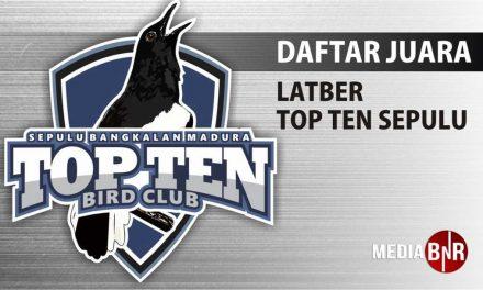 DAFTAR JUARA LATBER TOP TEN (21/11/2018)