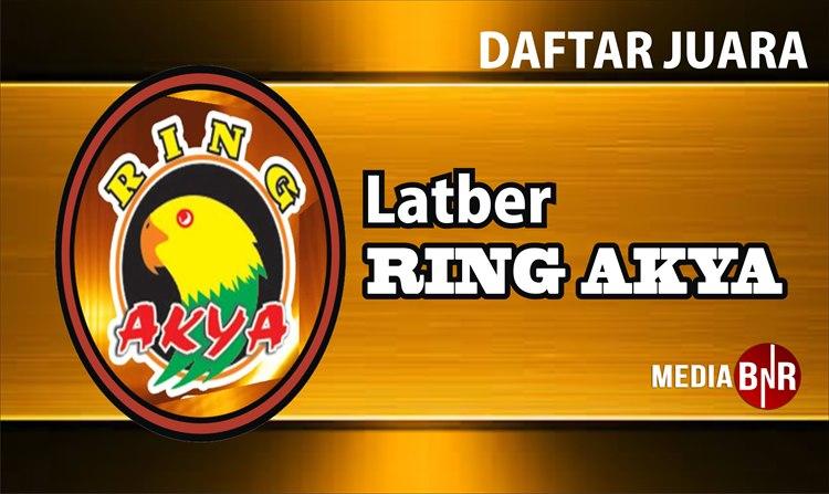 Daftar Juara Latber Ring Akya feat BnR (4/12/2018)