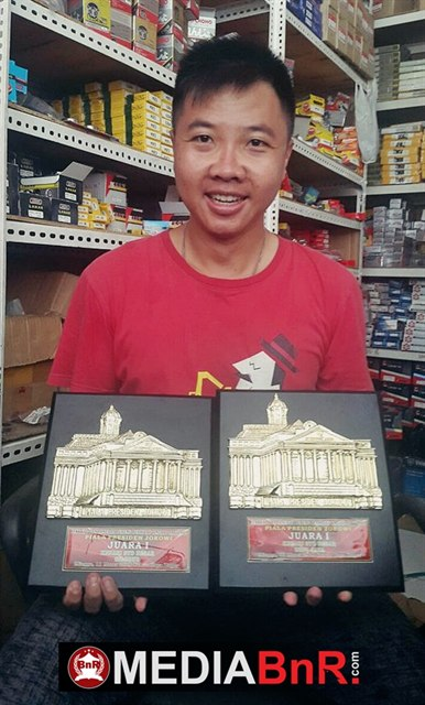 Mewahnya Aksi Paramitha di Piala Presiden Jokowi