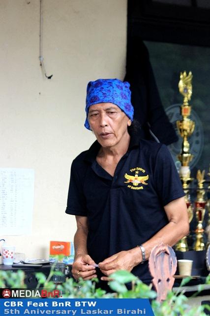 Herdy Matondang salah satu punggawa CBR