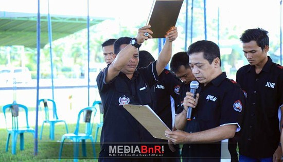 JBI Pusat dan Jawa Siap Kawal Penjurian Kapolda Cup Kalteng