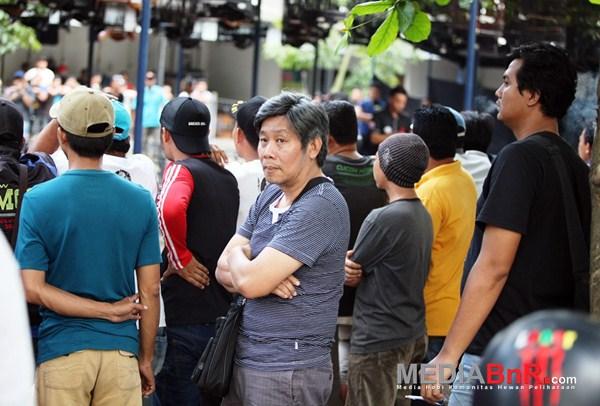 Herry IP Pantau Langsung Jalannya Acara (Foto: Zulfikar/MediaBnR.Com)