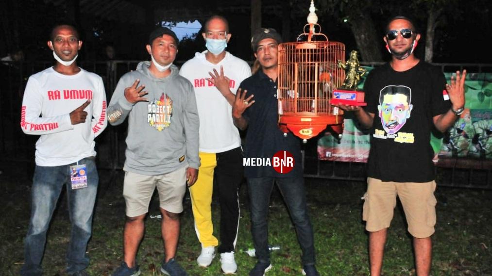 Holliday milik H. Topo Kediri sabet podium quattrick