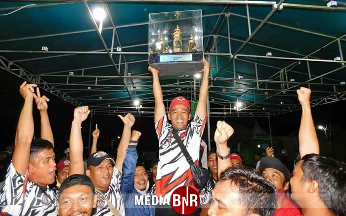 PIALA ARKHA CUP 2 SERANG #3 – Penuh Perjuangan, Wong Endi BC Rebut Juara Umum Bird Club