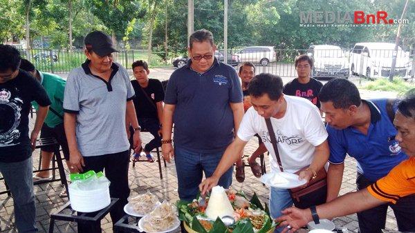 Acara Tumpengan GOR Jatidiri Semarang