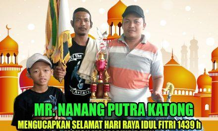 Mr. Nanang Putra Katong