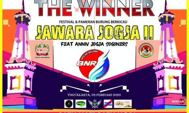 Jawara Jogja II Feat Anniversary Jogja Sogoners