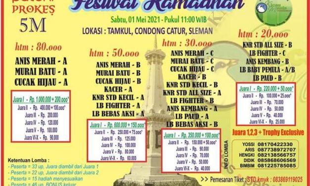 Brosur Festival Ramadhan Jogjakarta (28/04/2021)