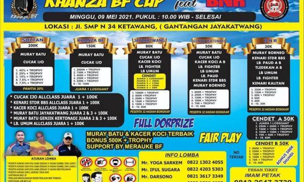Brosur Khanza BF Cup Feat BnR Purworejo (01/05/2021)