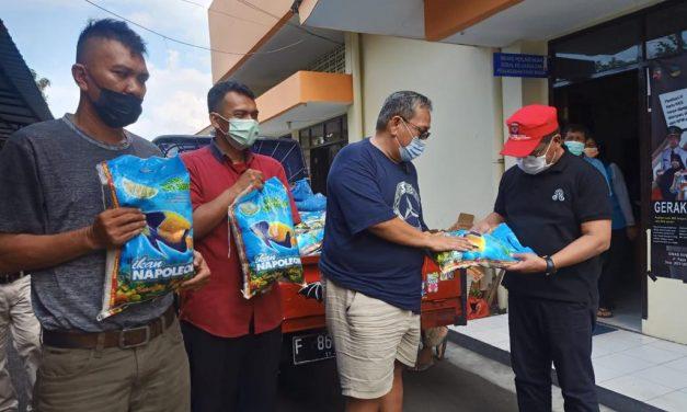 YAYASAN BnR INDONESIA SERAHKAN BANTUAN DINSOS BOGOR