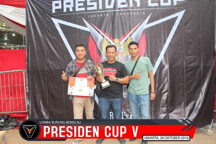 Pembuktian Sajam…Di MB Wapres Presiden Cup V