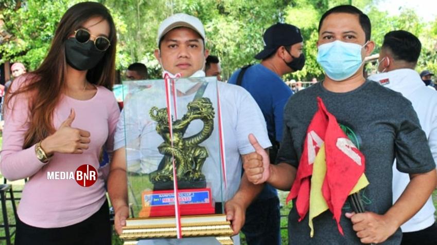 Idola milik WW Angga Surabaya raih kemenangan juara 1,2 & 4.