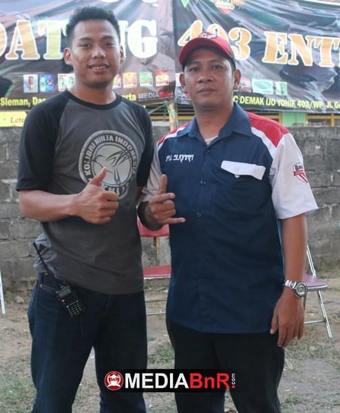 Iful Sugara & Niko KNI. Dua Motor Penggerak Lomba Anniversary KNI Jogja