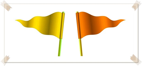 Nominasi Kuning dan Orange