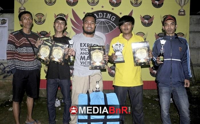 Rawing Nyeri, V3 BKS dan Kanal Team Juara Umum