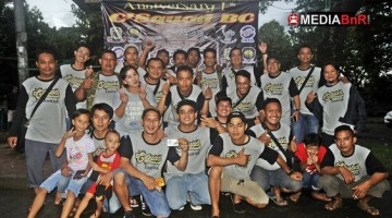 Jajaran Panitia C-Squad BC Sukses  Menggelar Lomba di Anniversarynya yang Pertama